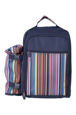 Mountain Warehouse 4 Person Picnic Set - Patterned