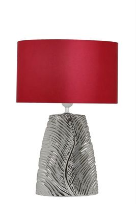 49cm Feather Table Lamp