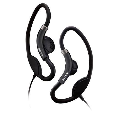 Sony Sport Headphones with Loop Hangers Black MDRAS21
