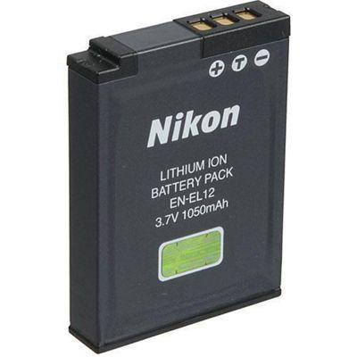 Nikon EN-EL12 Battery S9100 P300 S6200 AW100 S1200PJ S8200 S6150 S100
