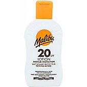 Malibu Sun Lotion SPF20 Medium Protection 200ml