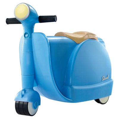 Buy Skoot Kid's Ride On Suitcase, Blue from our Kids' Ride On ...