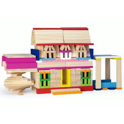 Viga Wooden Creating Blocks Playset