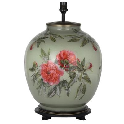 Red Peony Large Round Base Only