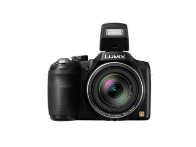 Panasonic DMCLZ30EBK Digital Camera, 16.1MP, 35x Optical Zoom, 3.0 inch LCD Screen