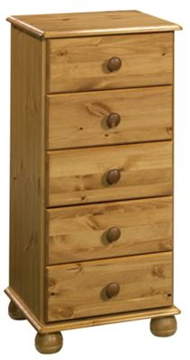 Oestergaard Woking Tallboy 5 Drawer Chest