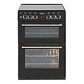 Belling CLASSIC60DFC 600mm Mini Range Dual Fuel Cooker, Black