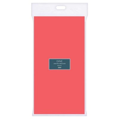 Tesco Flamingo Pink Tablecover 180X120cm