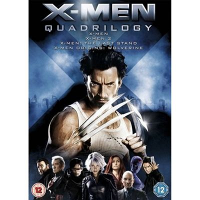 X-Men Quadrilogy (DVD Boxset)
