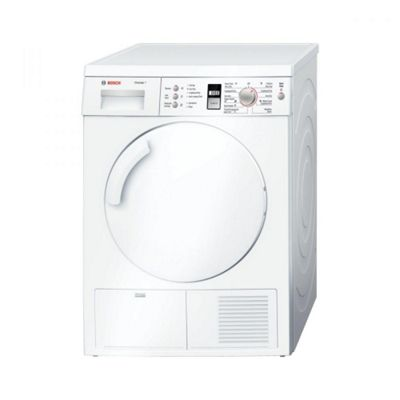 Bosch Classixx WTE84301GB Condenser Tumble Dryer, 7 Kg Load, B Energy Rating, White