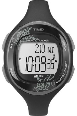 Timex Ladies Ironman Health Tracker Strap Watch T5K486