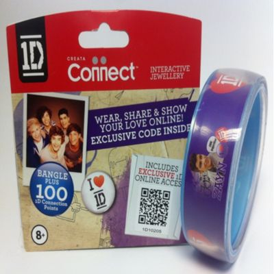 One Direction Official 1D Clear Bangle, Zayn
