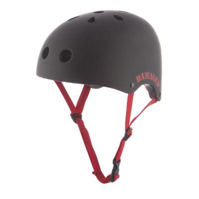 REAX Damaged Helmet 55-59cm Rubberised Black