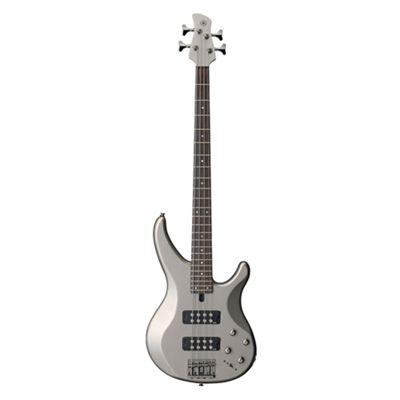 Yamaha TRBX304 4 String Bass Guitar Pewter