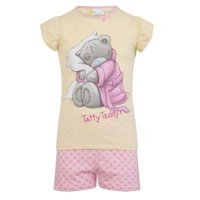 Tatty Teddy Toddler Girls Short Pyjamas 2-3 Years