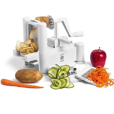 Top Home Solutions White Vegatable Spiral/Slicer Spiralizer