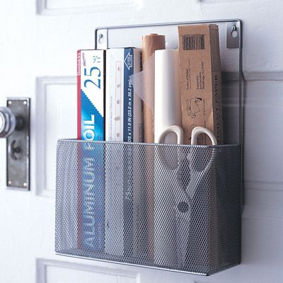 Design Ideas MeshWorks Pantry Caddy Silver