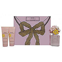 Marc Jacobs Daisy Eau So Fresh Gift Set 75ml EDT + 75ml Body Lotion + 75ml Shower Gel For Women