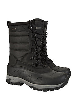 Mountain Warehouse Ice Peak High Snow Boot - Black