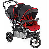 Jane Powertwin Pro Pushchair (Red)