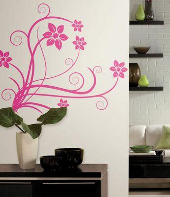 Deco Swirl Wall Stickers