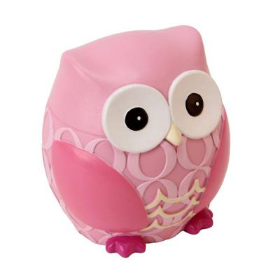 Children's Money Box - Pink Owl, Money Boxes for Children, Children's Gifts, Christening Gifts