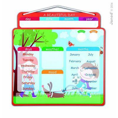 Janod Magnetic Educational Calendar