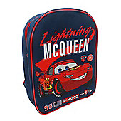Disney Cars 'Lightning Mcqueen' Pvc Front School Bag Rucksack Backpack