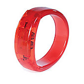 Funtime Light Up Gel Stone Bracelet Red