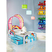 My Little Pony Toddler Bed With Storage Plus Deluxe Foam Mattress