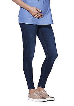 F&F Contour Over-Bump Skinny Maternity Jeans - Indigo Wash