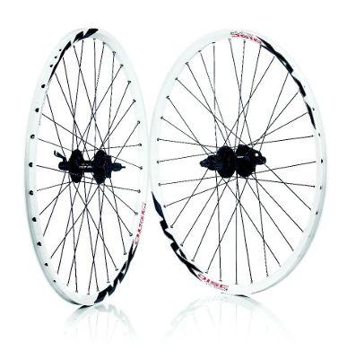 Wilkinson Mach 1 MX 8/9 Speed Shimano 475 MTB Disc White 32H Rear Wheel