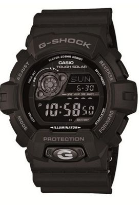 Casio G-Shock Mens Rubber Chronograph Solar Power Stopwatch Watch GR-8900A-1ER