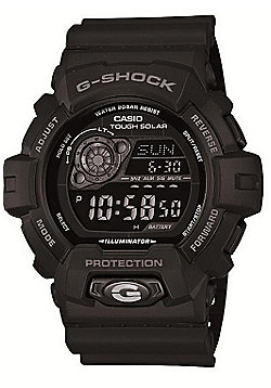 buy men s watches from our men s watches range tesco casio g shock mens rubber chronograph solar power stopwatch watch gr 8900a