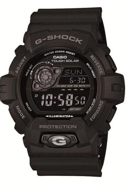 Casio G-Shock Mens Rubber Chronograph Solar Power Stopwatch Watch GR-8900A-1ER