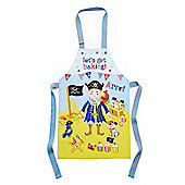 Cooksmart Children's PVC Apron, Captain Flapjack, Blue