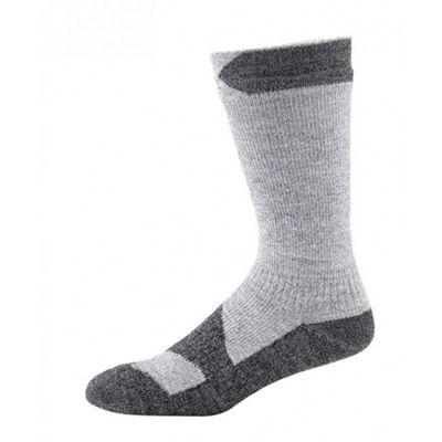 Seal Skins Thin Mid Socks Grey/Black Size: L