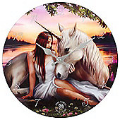 Pure Heart, Unicorn Wall Clock