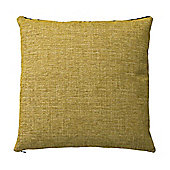 Bahne Mustard Yellow Square Cushion 45 x 45 cm