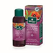 Kneipp Red Poppy & Hemp Pure Bliss Bath Herbal Bath Oil 100ml