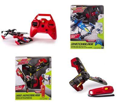 Spin Master BUNDLE Air Hogs Switchblade & Air Hogs 360 Hoverblade Boomerang 2 ITEMS