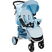 My Babiie MB30 Pushchair (Baby Blue Stripes)