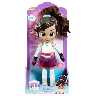 Nella The Princess Knight Talk & Sing Nella Soft Toy