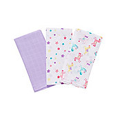 Mothercare Baby's Transport Extra Large Muslin Cloths - 3 Pack