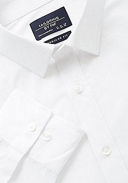 F&F Easy Care Regular Fit Shirt - White