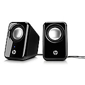 Certified Refurbished HP Multimedia 2.0 Speakers Designed For All Laptops, Desktop PCs - BR367AA#ABB