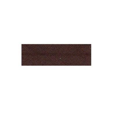 Essential Trimmings Polycotton Bias Binding, 2.5m x 25mm, Chocolate