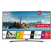 LG UJ670  Inch Smart WiFi Built In 4K Ultra HD LED TV - Grey