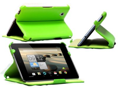 Navitech Acer Iconia A1 810 heat sync case - Green