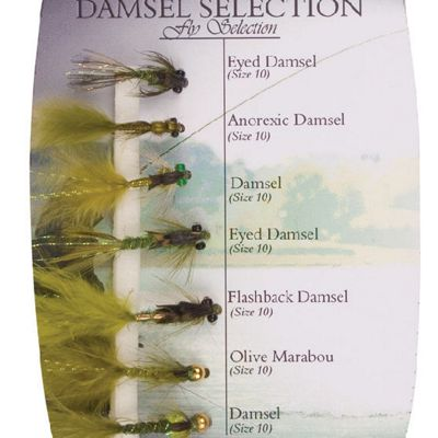 Shakespeare Fly Selection No 7 Selection Damsel Selection